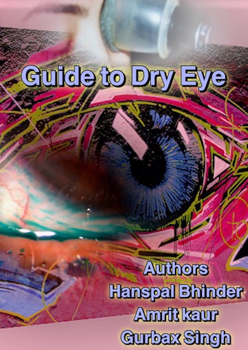 Dryeye book by Hanspal bhinder